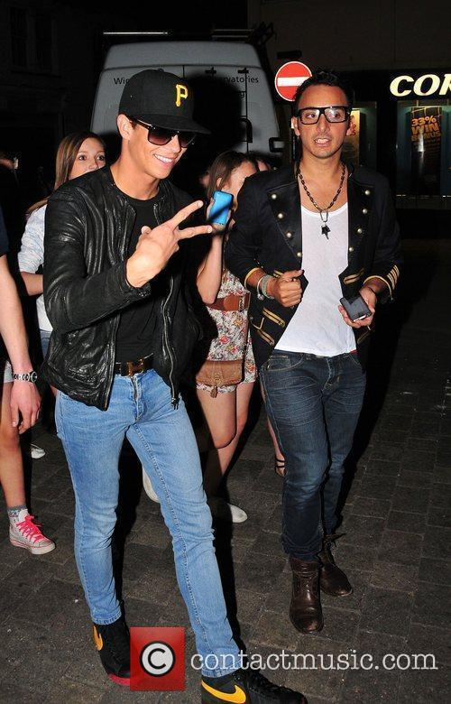 Joey Essex leaves,  at Minnies Boutique launch...