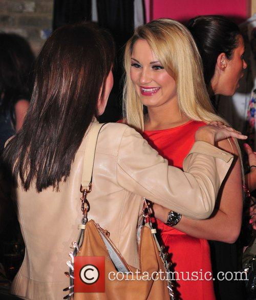 Sam Faiers,  at Minnies Boutique launch party...