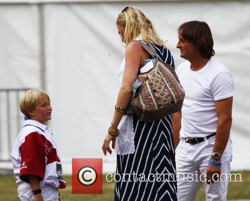 Jodie Kidd with boyfriend Andrea Vianini and Jodie's...