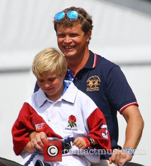 Jack Kidd and his son Jaime MINT Polo...
