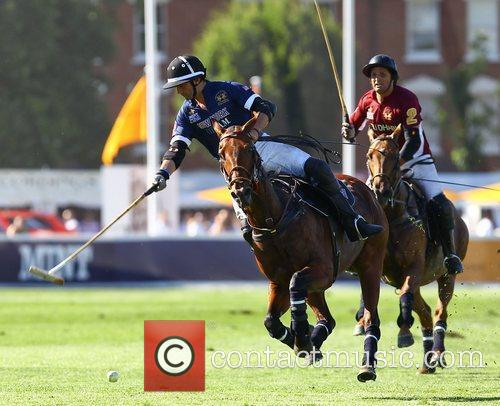 MINT Polo tournament in the Park in Putney...