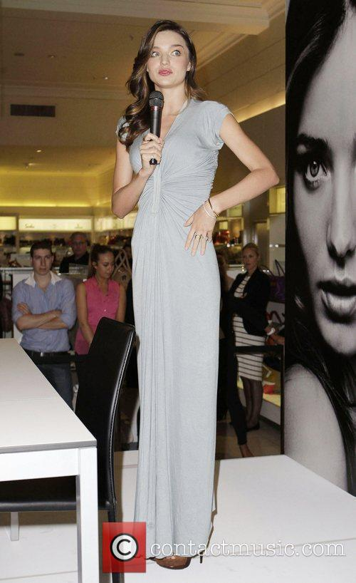 Miranda Kerr  at an in-store event promoting...