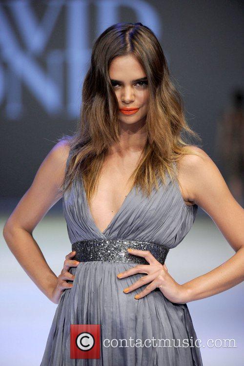 Samantha Harris David Jones Spring/Summer 2011 season launch...