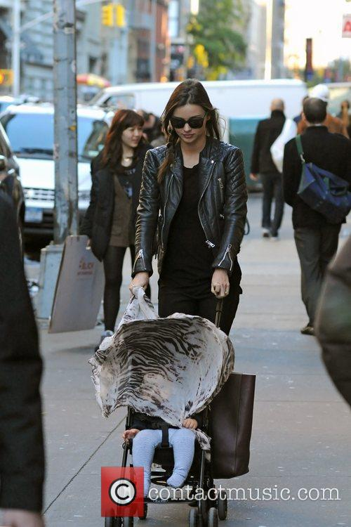 Miranda Kerr out and about in Manhattan with...