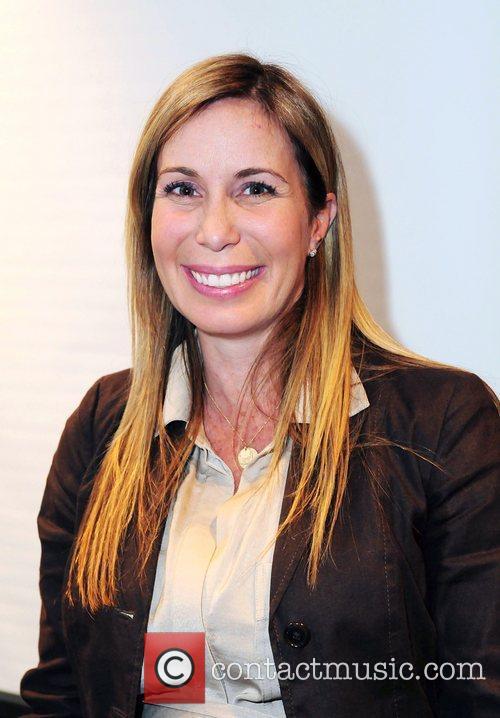 Wildlife expert Mireya Mayor at her book signing...