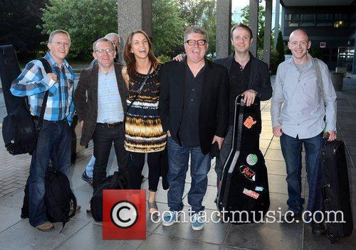 Pat Shortt and his band  Celebrities arriving...