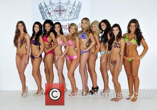 Swimwear photoshoot with 10 of the Finalists for...