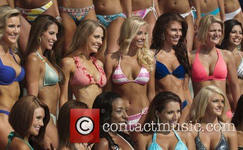 Contestants at the Westin Diplomat Resort in Hollywood...