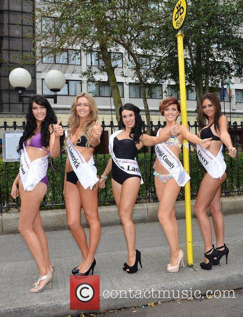 34 Miss Ireland 2011 hopefuls line up at...