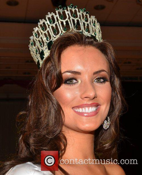 Holly Carpenter is crowned Miss Ireland 2011 at...