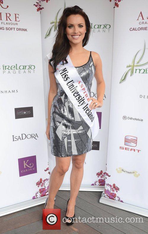 Holly Carpenter (Miss University)  Miss Ireland finalists...
