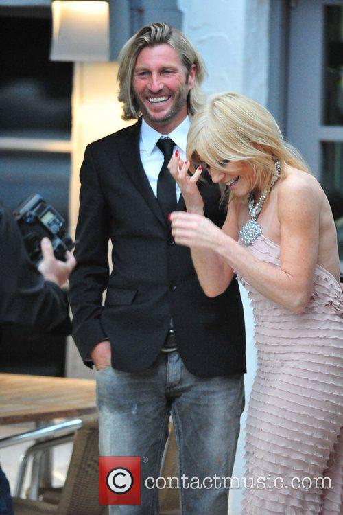 Robbie Savage and Michelle Collins The Miss Manchester...