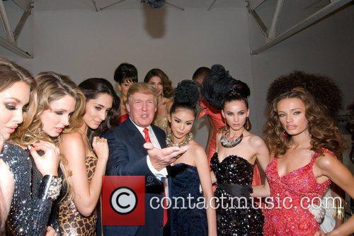 Shandi Finnessey, Amelia Vega, Donald Trump and Riyo Mori 4