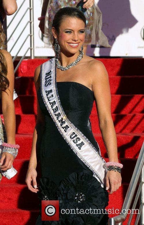 2011 Miss USA Pageant contestants arrive at Planet...