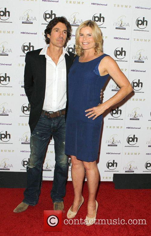 Mariel Hemingway and Guest 2011 Miss USA Pageant...
