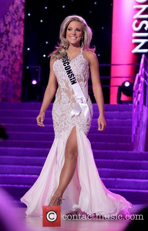 Miss Wisconsin USA Jordan Marie Morkin...