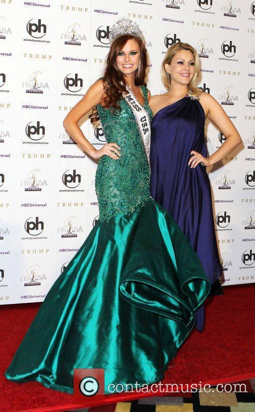 2011 Miss USA Alyssa Campanella and Shanna Moakler...