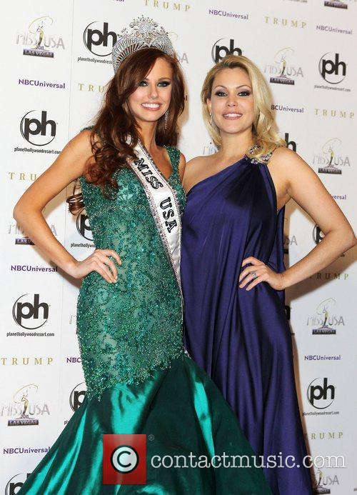 2011 Miss USA Press Conference at Planet Hollywood...