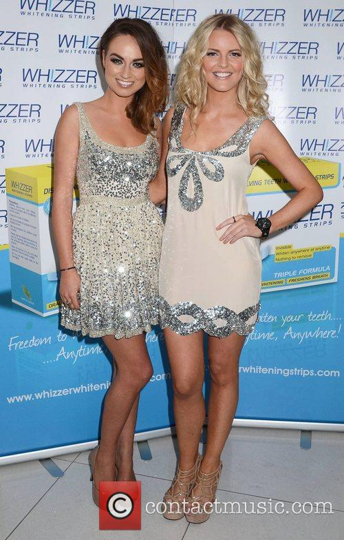 Daniella Moyles, Claire Moore,  at the Miss...