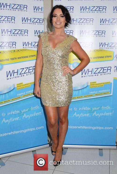 Michele McGrath,  at the Miss Whizzer Whitening...