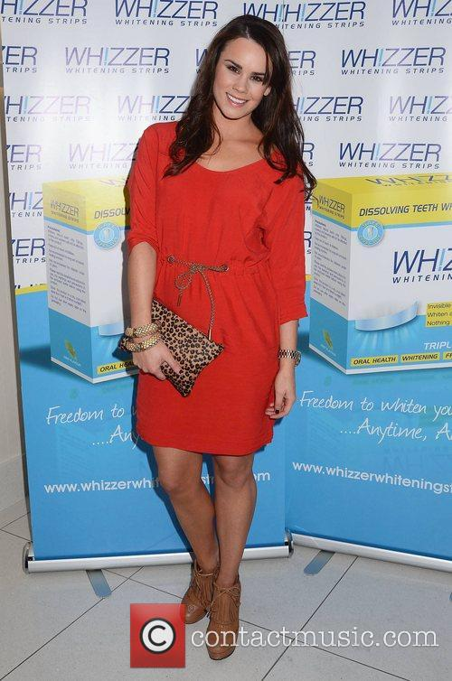 Rachel Kavanagh,  at the Miss Whizzer Whitening...