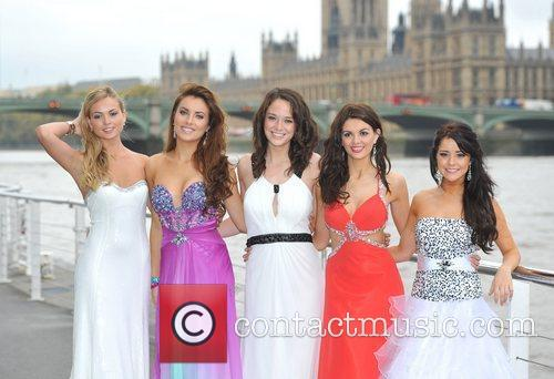 Miss England, Alize Lily Mounter, Miss Scotland, Miss...