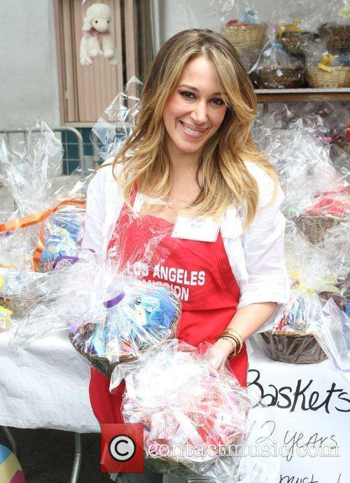 Haylie Duff Los Angeles Mission Easter for the...