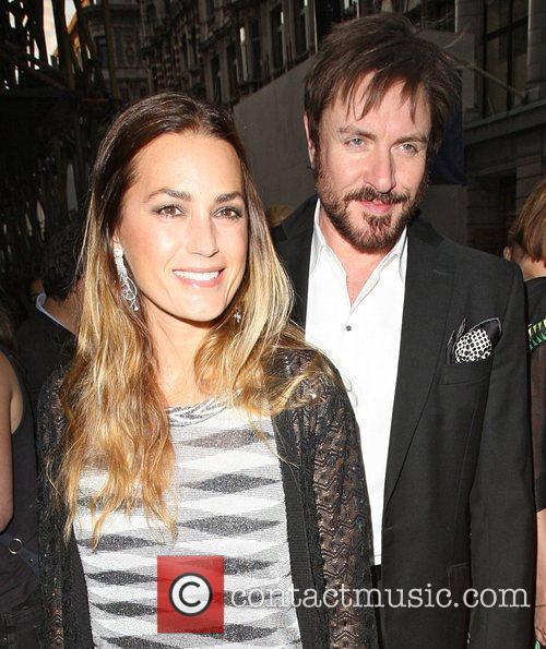 Yasmin Le Bon and Simon Le Bon celebrities...
