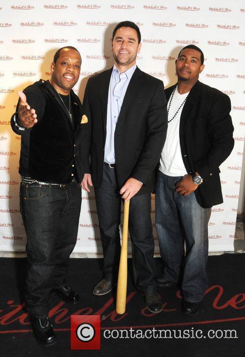 Michael Bivins, Sean McKinney and Joe Spencer Mitchell...