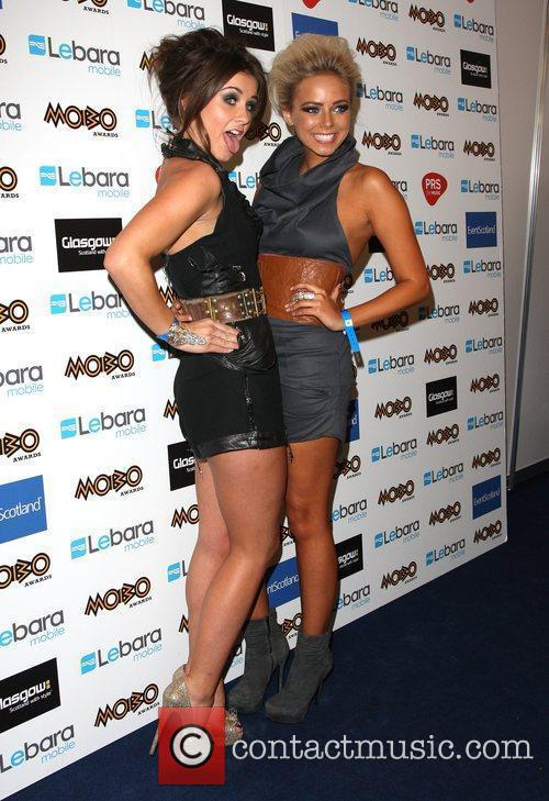 Brooke Vincent, Sacha Parkinson and Mobo 3