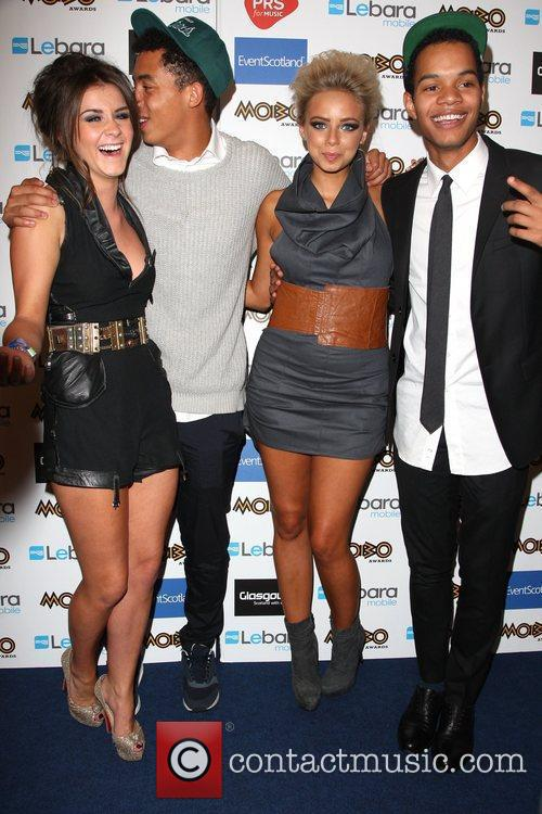 Brooke Vincent, Sacha Parkinson and Mobo 8