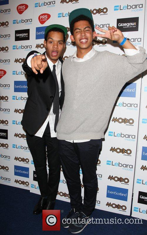 Katie Price, Rizzle Kicks and Mobo 1
