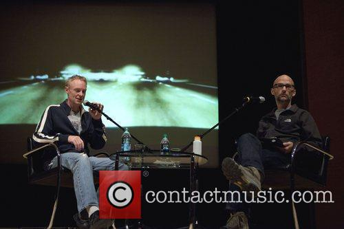 John Scharfer (of WNYC ) interviewing Moby about...