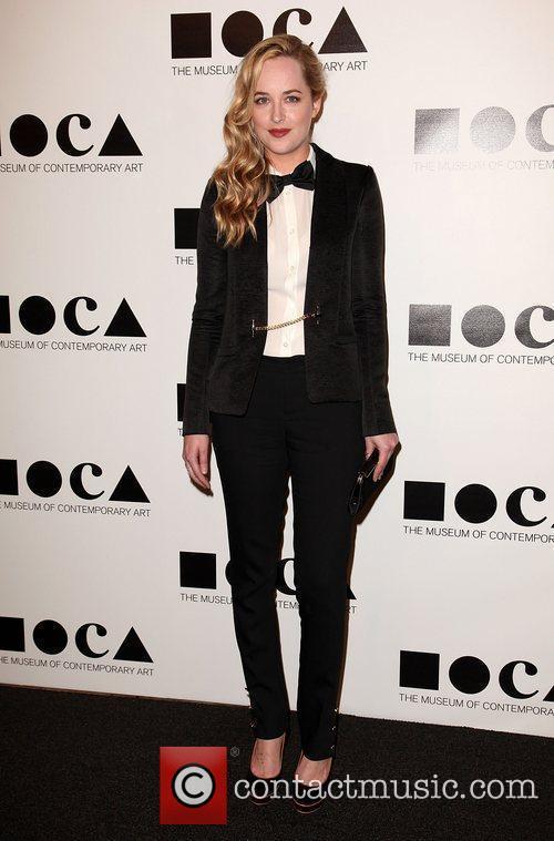 Dakota Johnson 2011 MOCA Gala: 'An Artist's Life...