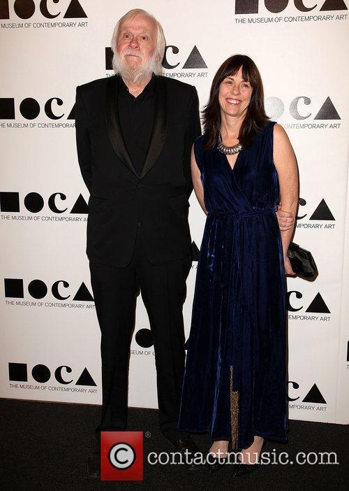 John Baldessari and guest  2011 MOCA Gala:...