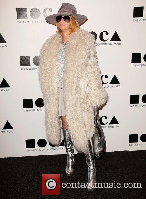 Linda Ramone  2011 MOCA Gala: 'An Artist's...
