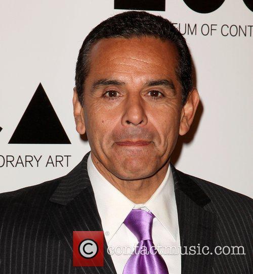 Los Angeles Mayor Antonio Villaraigosa  2011 MOCA...