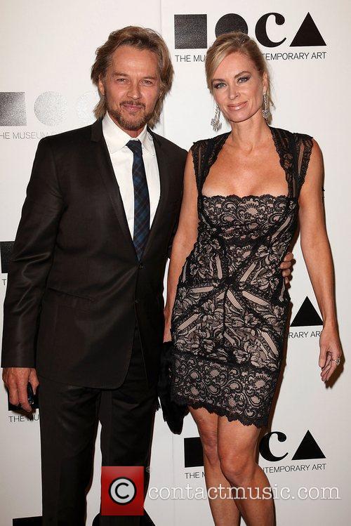 Stephen Nichols and Eileen Davidson 2011 MOCA Gala:...