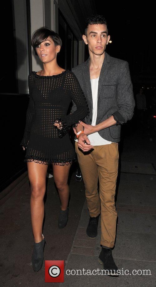 Frankie Sandford from girl group The Saturdays leaves...