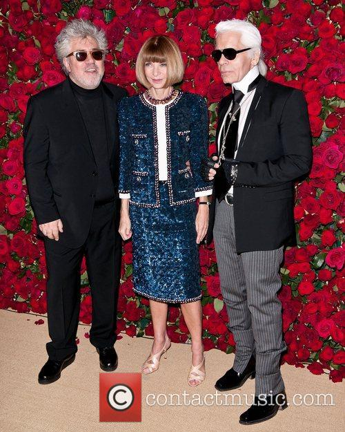 Pedro Almodovar, Anna Wintour and Karl Lagerfeld 3