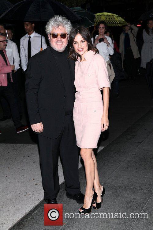 Pedro Almodovar and Elena Anaya 4