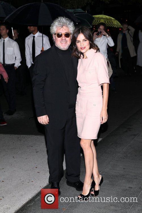 Pedro Almodovar and Elena Anaya 1