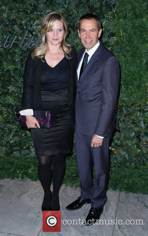 Justine Koons and Jeff Koons 2011 MoMA Party...