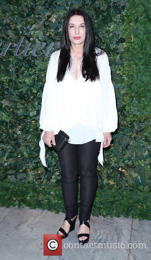 Marina Abramovic  2011 MoMA Party In The...