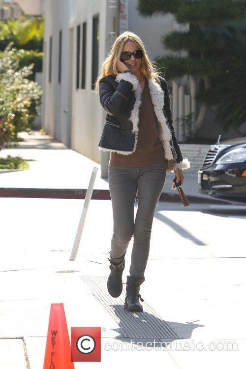 Actress Monet Mazur is seen outside Urth Caffe...