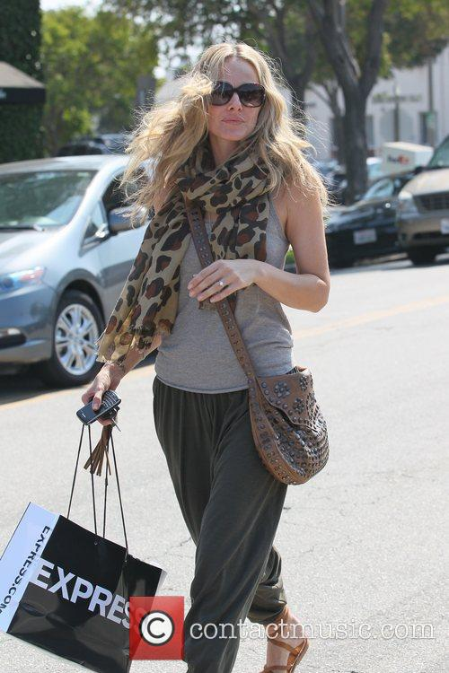 Out getting her hair done in Beverly Hills