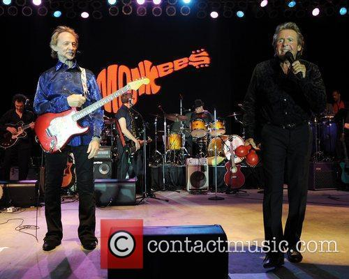 Peter Tork and Davy Jones  of the...