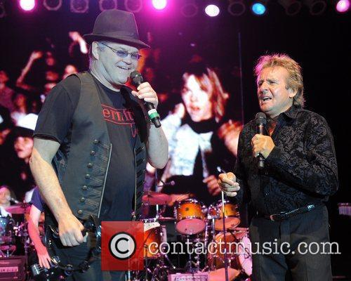 Micky Dolenz and Davy Jones  of the...