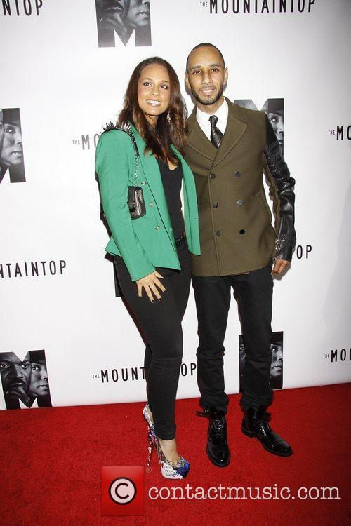 Alicia Keys and Swizz Beatz 7