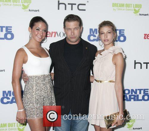 Stephen Baldwin with daughters Alaia Baldwin and Hailey...